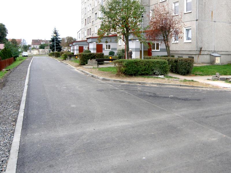 Przebudowa dróg na Osiedlu Huta w Przemkowie