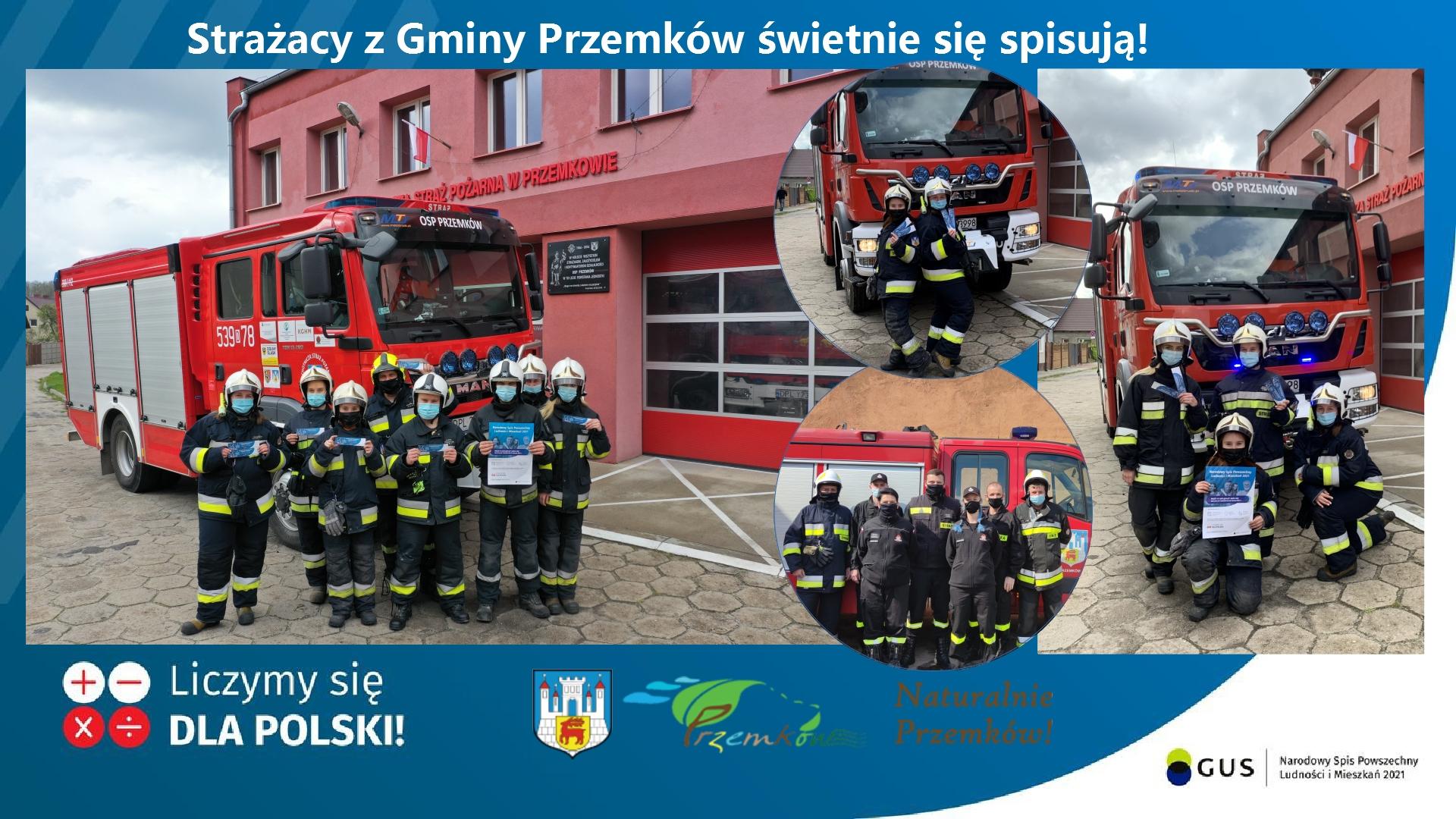 Strażacy z Gminy Przemków świetnie się spisują